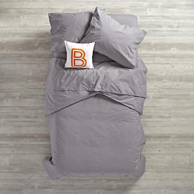 Simply Grey Duvet Cover