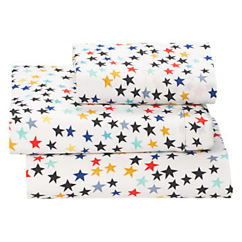 Organic Superstar Jersey Twin Sheet Set