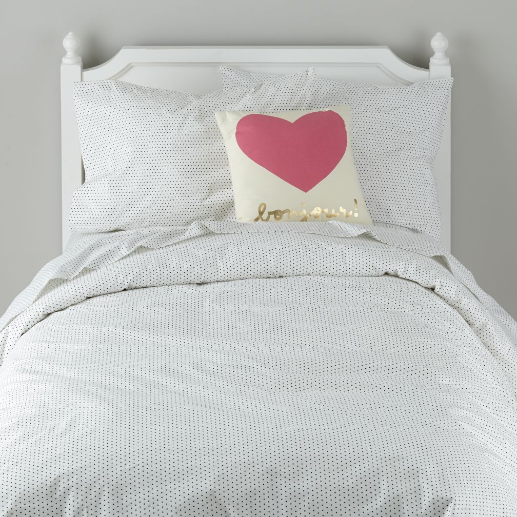 swiss dot bedding