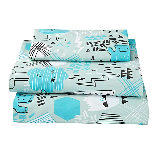 Creature Comfort Toddler Sheet Set