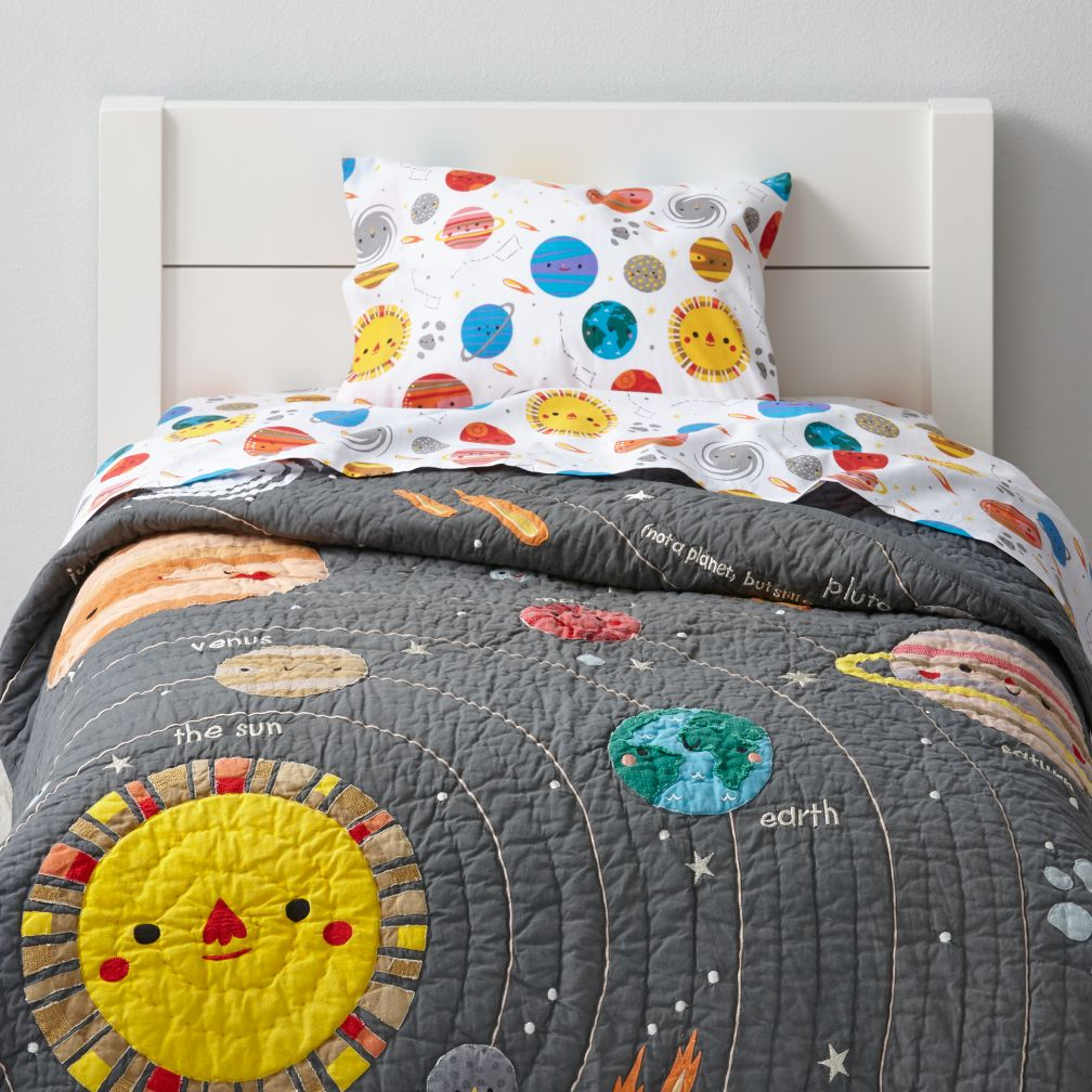 Deep Space Toddler Bedding : The Land of Nod