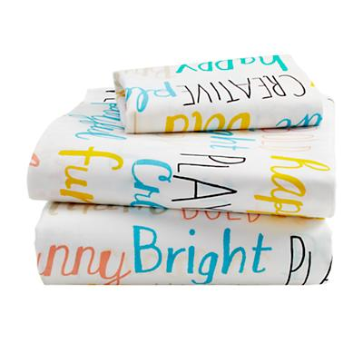 Early Edition Toddler Sheet Set (Word)