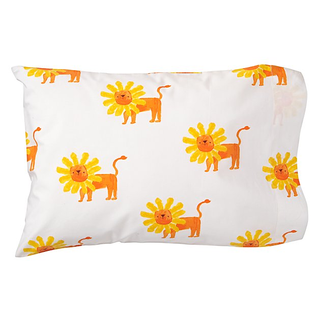 Wild Excursion Lion Toddler Pillowcase