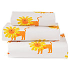 Organic Wild Excursion Lion Toddler Sheet Set