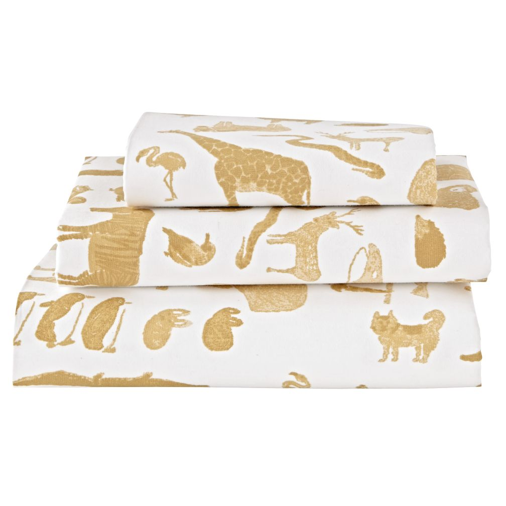 Menagerie Toddler Sheet Set
