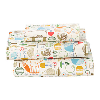 Organic Nature Trail Toddler Sheet Set