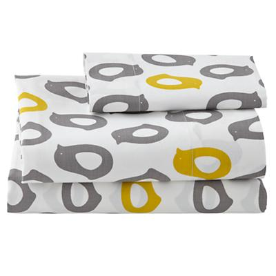 Not a Peep Toddler Sheet Set (Chicks)