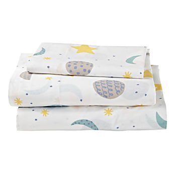 Organic Nightfall Toddler Sheet Set