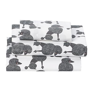 Poodle Party Toddler Sheet Set