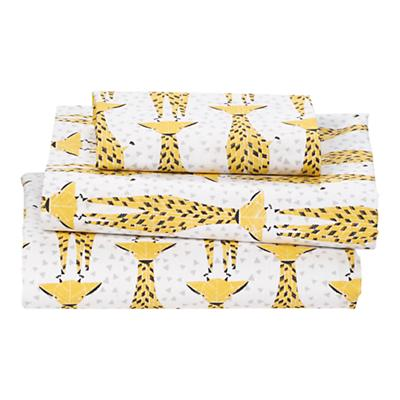 Savanna Toddler Sheet Set (Giraffe)