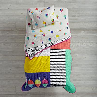 Snow Cone Toddler Bedding