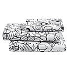 Twin Charley Harper Animal SheetsIncludes fitted sheet, flat sheet and one pillowcase
