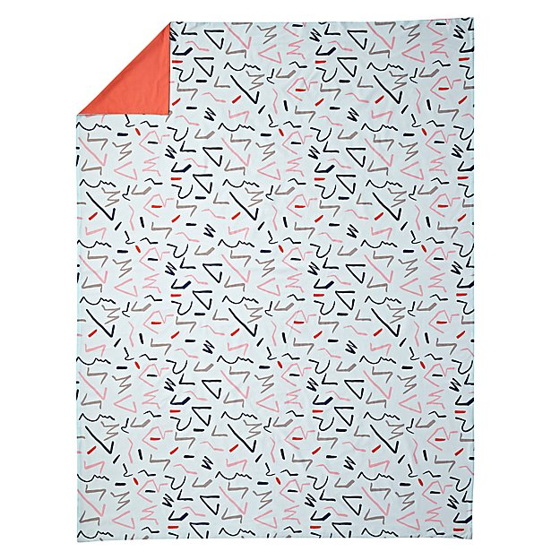 Ticker Tape Duvet Cover (Twin)