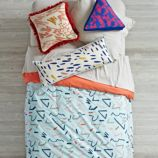Ticker Tape Duvet Cover