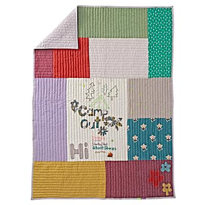 Twin Vintage Camp Quilt