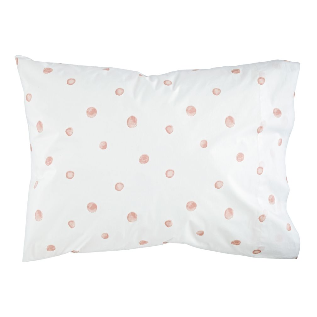 Organic Washed Dot Pillowcase