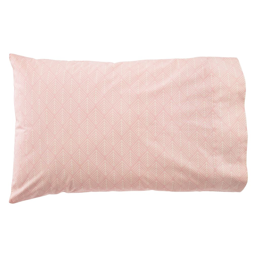 Organic Well Nested Pink Pillowcase