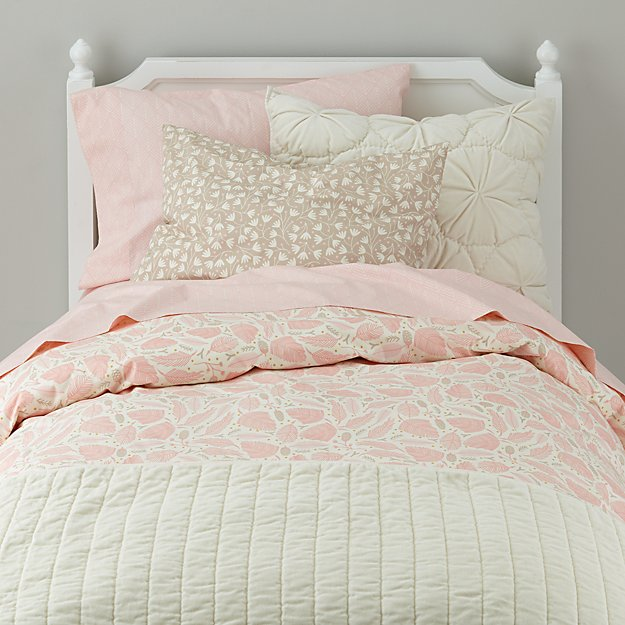 Organic Well Nested Pink Bedding