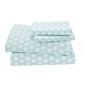Organic Well Nested Blue Full Sheet Set