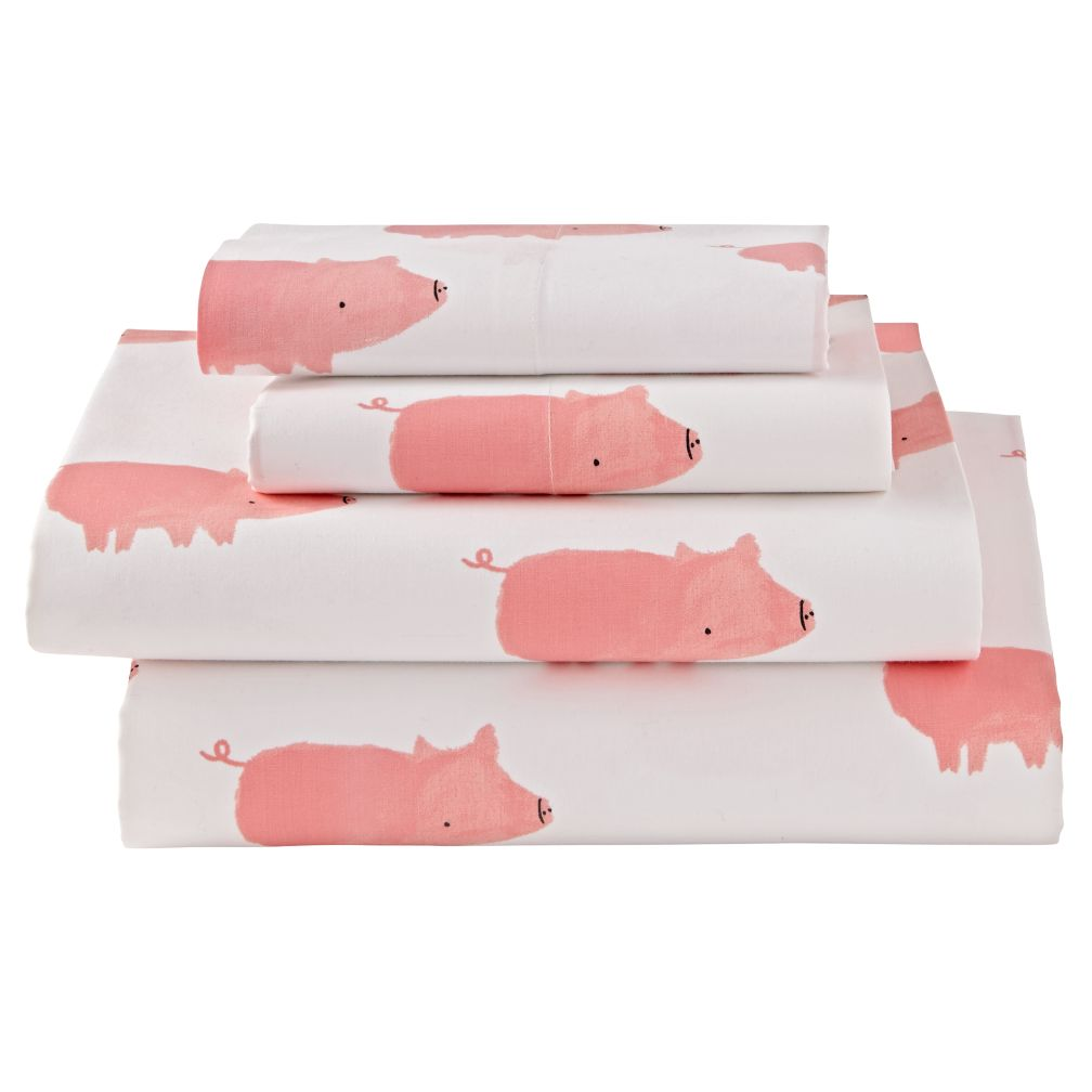 Organic Wild Excursion Pig Full Sheet Set