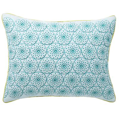 Blue Wildflowers Circle Sham
