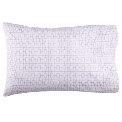 Window Pane Lavender Pillowcase