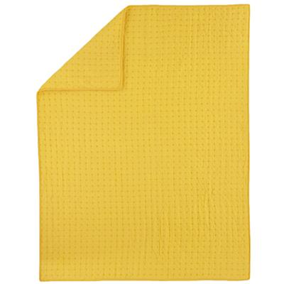 Twin Yellow Voile Quilt