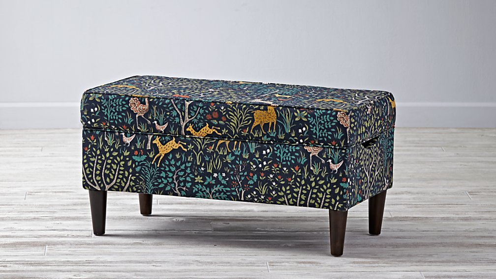 Upholstered Storage Bench (Folkland Admiral)