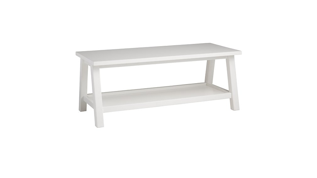 Woodstock Bench (White)