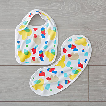 Organic Bib and Burp Cloth Set