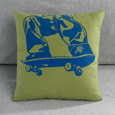 Big Bro Skateboard Throw Pillow