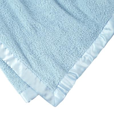 Personalized Cuddle Me Softy Baby Blanket (Lt. Blue)