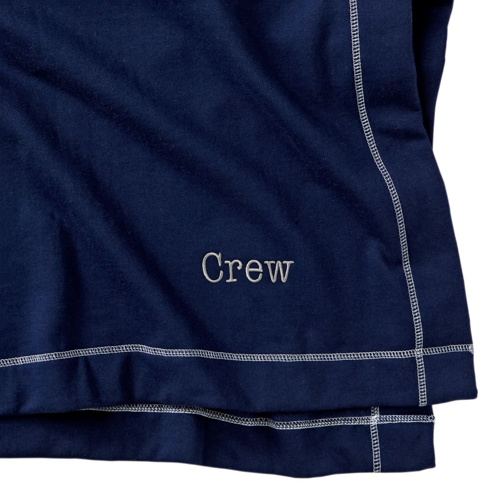 Personalized Standard Issue Navy Sweatshirt Blanket
