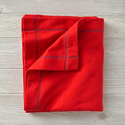 Standard Issue Red Sweatshirt Blanket