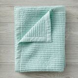 Snuggle Up Mint Baby Blanket