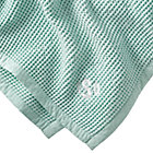 Personalized Snuggle Up Mint Baby Blanket