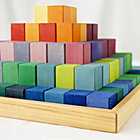 Large The Greater Pyramid Wooden Block Set