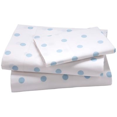 Blue Pastel Dots Sheet Set (Twin)