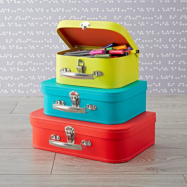 stacking suitcase