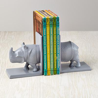 Rhino Bookends (Set of 2)