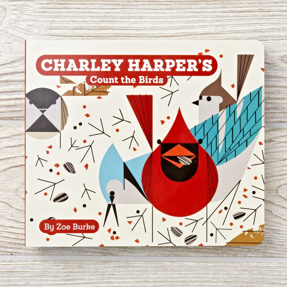 Charley Harper Count The Birds Board Book