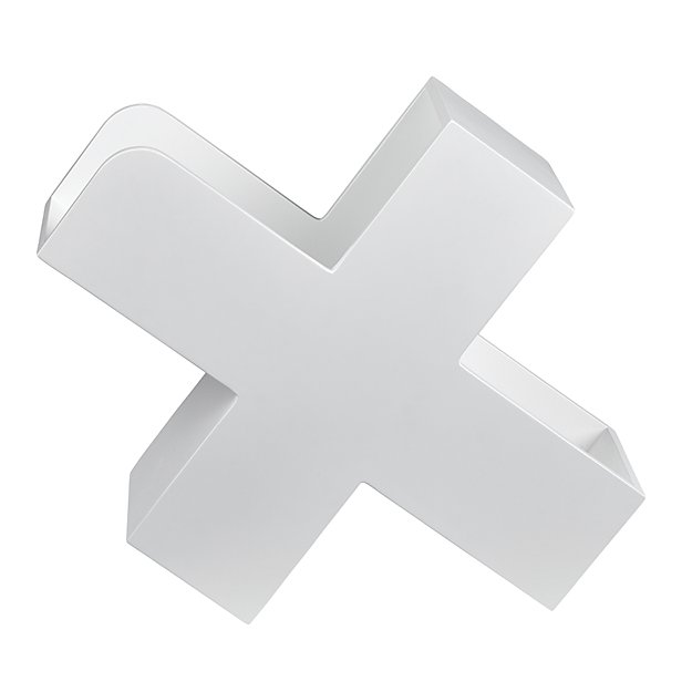 X Marks the White Book Caddy