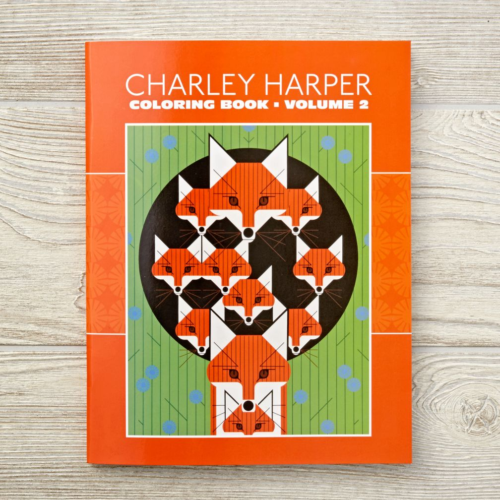 charley harper coloring book the land of nod - Charley Harper Coloring Book