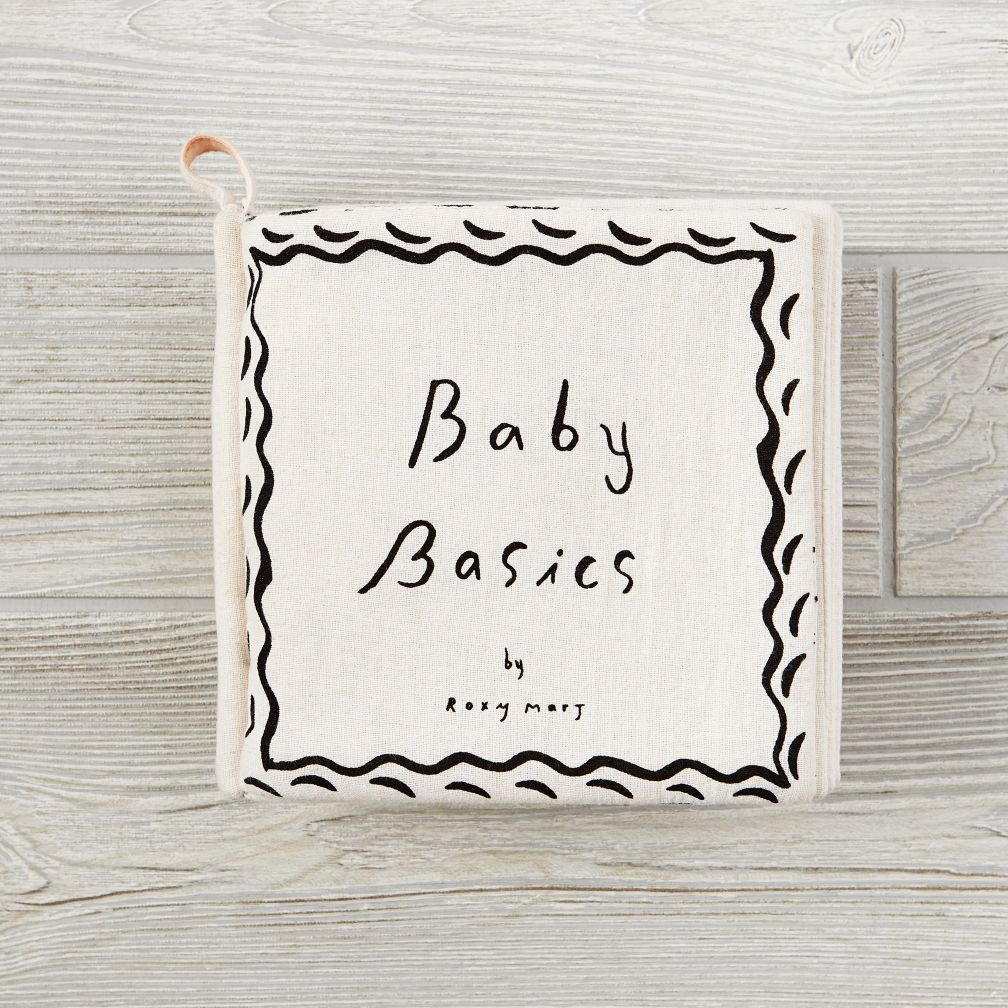 Plush Baby Basics Book