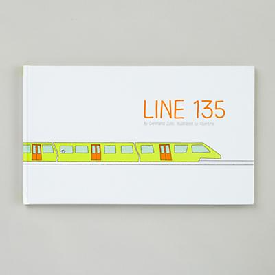 Line 135 by Germano Zullo