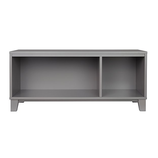 - District Storage Bench/Bookcase (Grey) The Land Of Nod
