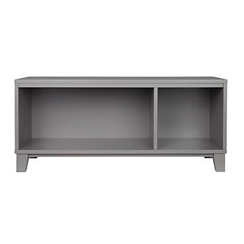 District 2-Cube Storage Frame w/Bin (Grey)