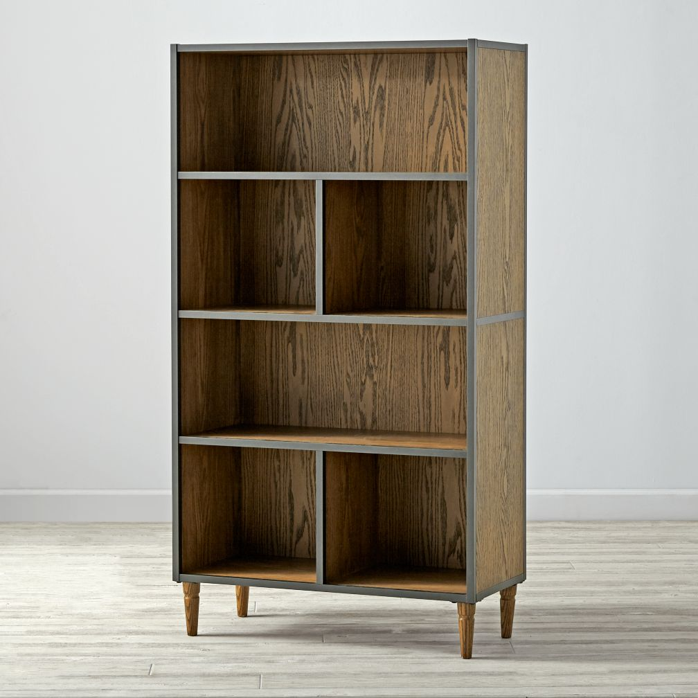 Ikea Bookcase Discontinued: Tall Brown Fulton Street Bookcase