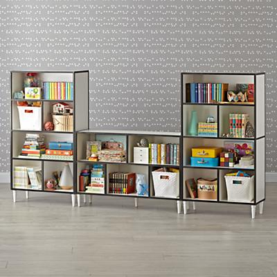 Bookcase_Fulton_Wide_Tall_White_Collection_SQ