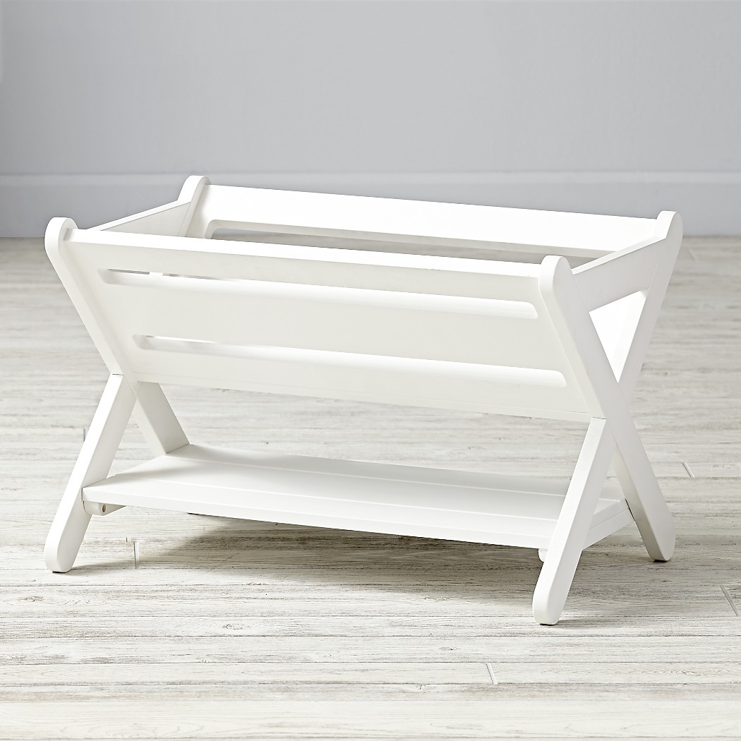 Good Read Book Caddy (White) | The Land of Nod